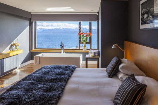 Two-bedroom suite with lake view